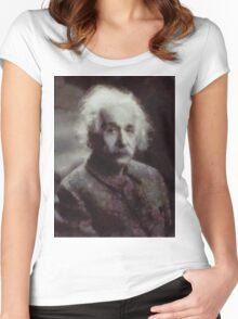 Einstein by John Springfield Women's Fitted Scoop T-Shirt