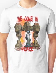 In Peace We Conquer  T-Shirt