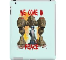 In Peace We Conquer  iPad Case/Skin