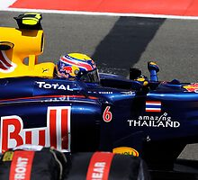 Mark Webber 2010 British Grand Prix by WillOakley