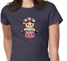 Maria 6 (Mexican Doll) Womens Fitted T-Shirt