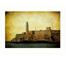 El Morro lighthouse, Havana, Cuba  Art Print