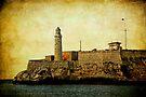 El Morro lighthouse, Havana, Cuba  by David Carton