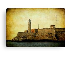 El Morro lighthouse, Havana, Cuba  Canvas Print