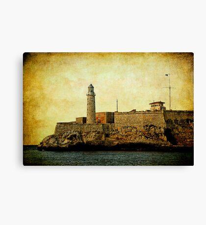 El Morro lighthouse, Havana, Cuba  Canvas Print
