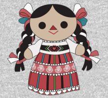 Maria 4 (Mexican Doll) Kids Tee