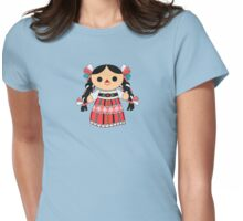 Maria 4 (Mexican Doll) Womens Fitted T-Shirt