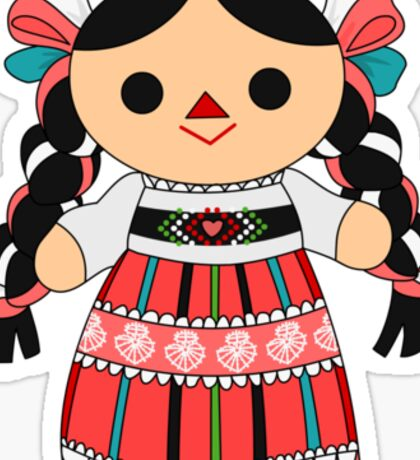 Maria 4 (Mexican Doll) Sticker