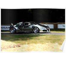 Bugatti Veyron BUG 1 Goodwood Poster