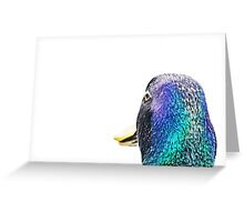 Mallard Profile Greeting Card