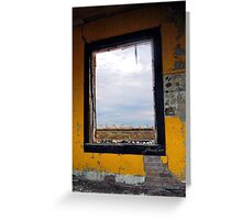 Picture Window Greeting Card