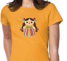 Maria 2 (Mexican Doll) Womens Fitted T-Shirt