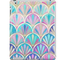 Glamorous Twenties Art Deco Pastel Pattern iPad Case/Skin