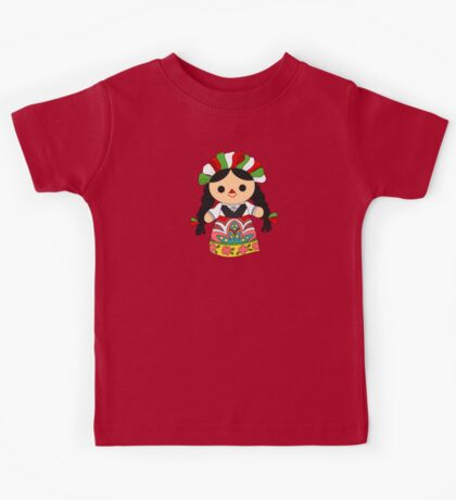 Maria 1 (Mexican Doll) Kids Tee