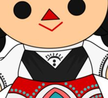 Maria 1 (Mexican Doll) Sticker