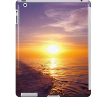 Trailing Sun Atlantic Ocean iPad Case/Skin