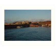 Bay in Naples, Italy Art Print