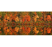 Reflections Of Autumn Photographic Print