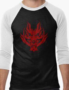 GOD EATER - Fenrir Logo Men's Baseball ¾ T-Shirt