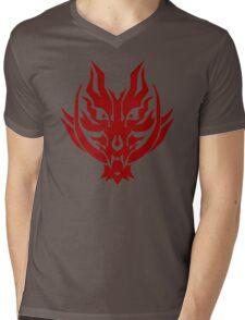 GOD EATER - Fenrir Logo Mens V-Neck T-Shirt