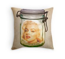 STAR IN A JAR Throw Pillow