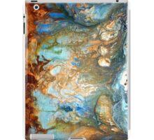 fluid acrylic abstract painting by artist holly anderson FLOURISH iPad Case/Skin