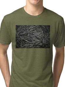Abstract Industrial Background Tri-blend T-Shirt