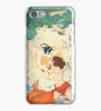 A Dialogue Between Apsara and Angel iPhone Case/Skin