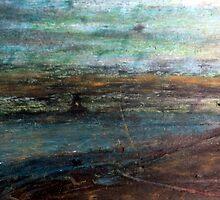 Mystery In Scenery. Dark River landscape. by SpieklyArt
