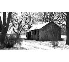 It's quiet in the winter... Photographic Print
