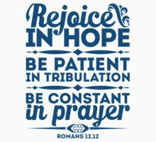 Rejoice in hope by biblebox