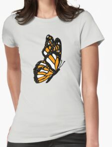 Orange Monarch Butterfly T-Shirt