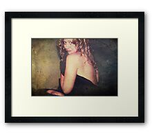 To Have You Here By Me Framed Print