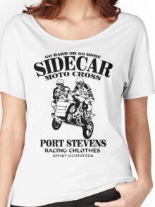Sidecar Moto Cross Women's Relaxed Fit T-Shirt