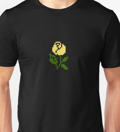 Li'l Roses: Yellow Unisex T-Shirt
