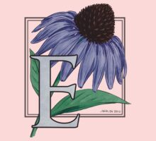 E is for Echinacea - full image Kids Clothes