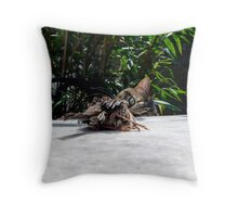 Nice birdie Throw Pillow