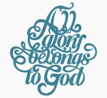All glory belongs to God Kids Tee