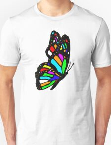 Rainbow Butterfly Unisex T-Shirt