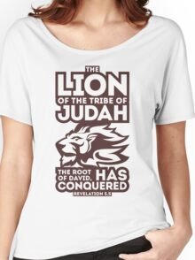 The Lion of the tribe of Judah Women's Relaxed Fit T-Shirt