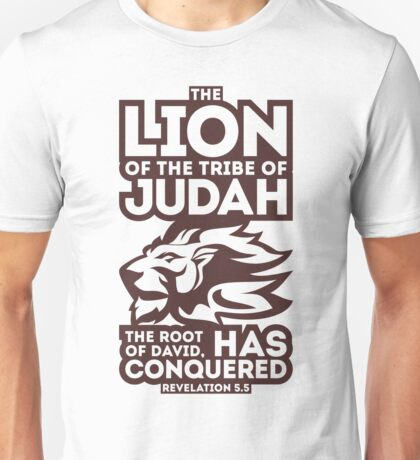 The Lion of the tribe of Judah Unisex T-Shirt