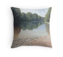 River Swale Throw Pillow