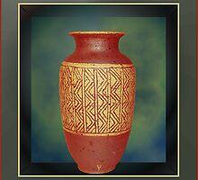 Vase by Patricia by Jorge S Jimenez