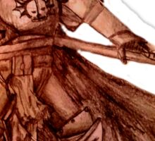 Warhammer 40k Night Lords Inspired Trooper Sticker
