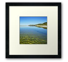 Wondrous winter weather on Moreton Island Framed Print