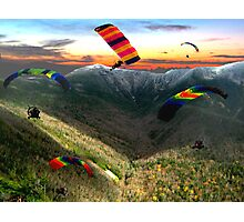 Flying High!! Whitefield wonders!    Photographic Print