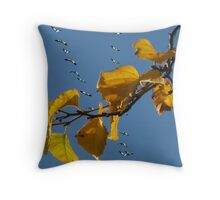 The Snow Geese Are Here #2 Throw Pillow