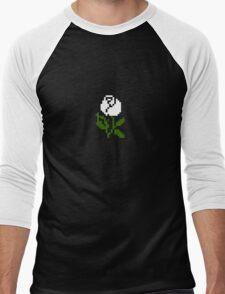 Li'l Roses: White Men's Baseball ¾ T-Shirt