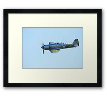 Sea Fury Close Framed Print