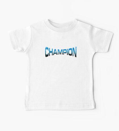 Pokemon Champion_Blue_DarkBG Baby Tee